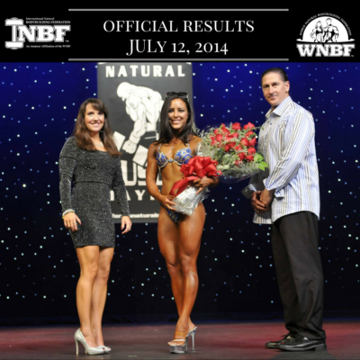 Results 2013 Pro USA and California Natural Muscle Mayhem Pro Qualifier Sacramento California