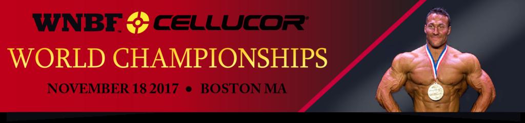 2017 INBF and WNBF Cellucor World Championships Boston Massachusetts