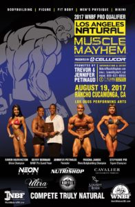 2017 Los Angeles Natural Muscle Mayhem WNBF Pro-Qualifier