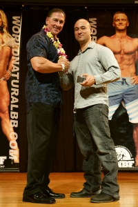 Bob Bell Polynesian Natural Muscle Mayhem promoter Mike Hi Fit Expo 2016