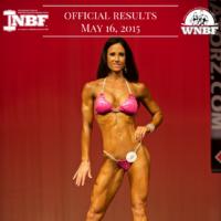 Results 2015 INBF LA Natural Muscle Mayhem WNBF Pro Qualifier Jennifer Whelan WNBF Pro Bikini Rancho Cucamonga California