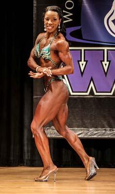 Robin Mays WNBF Fit Body Champion
