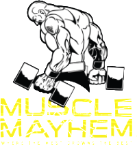 Natural Muscle Mayhem Retina Logo