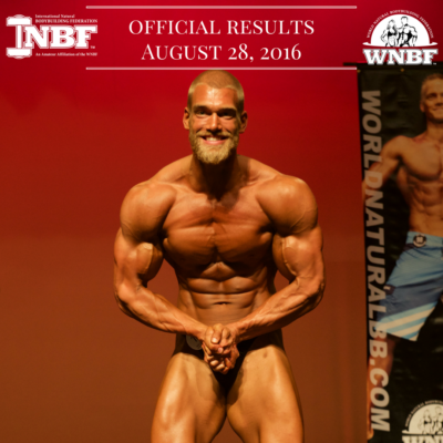 Results 2016 INBF LA Natural Muscle Mayhem WNBF Pro Qualifier Mischa Janiec Bodybuilding Champion Rancho Cucamonga California