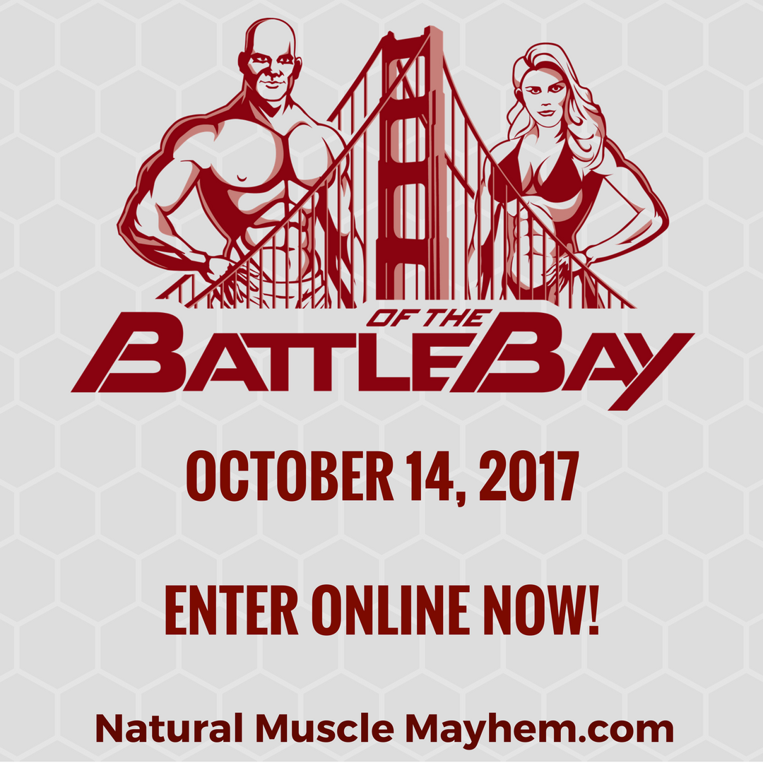 INBF Battle of the Bay WNBF Pro Qualifier Enter Now Instagram Post