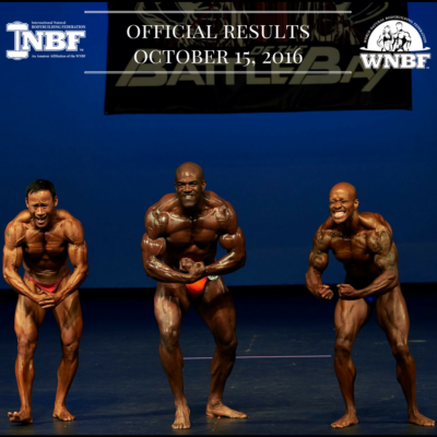 Results 2016 INBF Battle of the Bay WNBF Pro Qualifier San Ramon California