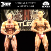 Results 2015 INBF Battle of the Bay WNBF Pro Qualifier Tyler Yasuda Ryan White San Ramon California
