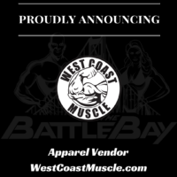 West Coast Muscle Apparel Vendor at the 2017 INBF Battle of the Bay