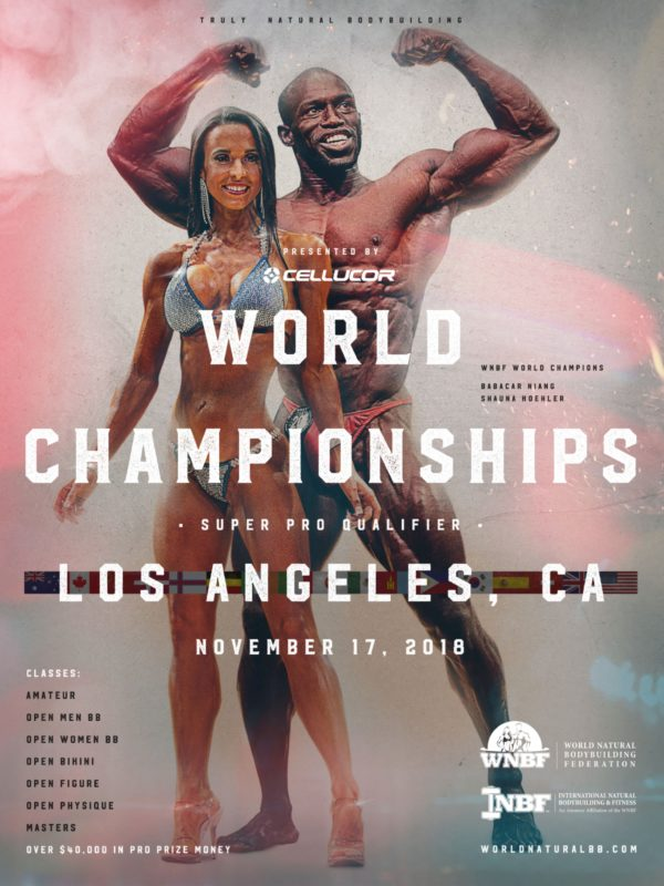 2018 INBF WNBF Cellucor Worlds Los Angeles California