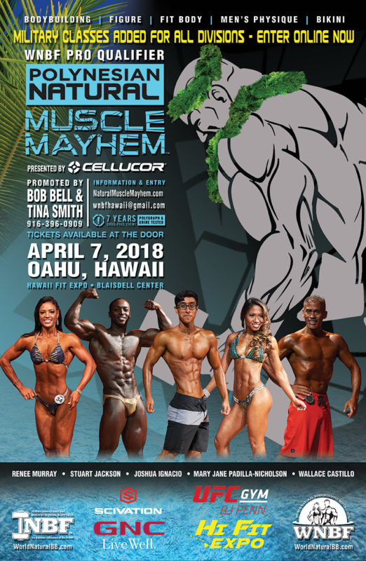 Largest Natural Bodybuilding Organization