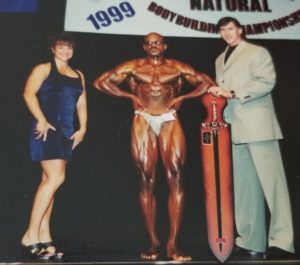 Gerry Pruitt 1999 Novice Overall Bodybuilding Champion Capital City Natural Sacramento Elk Grove Sheldon High School Performing Arts Center