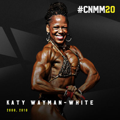 Katy Wayman White 2000 INBF Capital City Natural Champion WNBF Professional