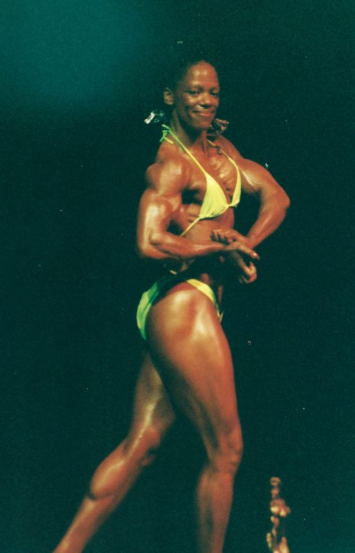 Katy Haller 2000 INBF Capital City Natural Womens Bodybuilding Champion WNBF Pro Card Sacramento California