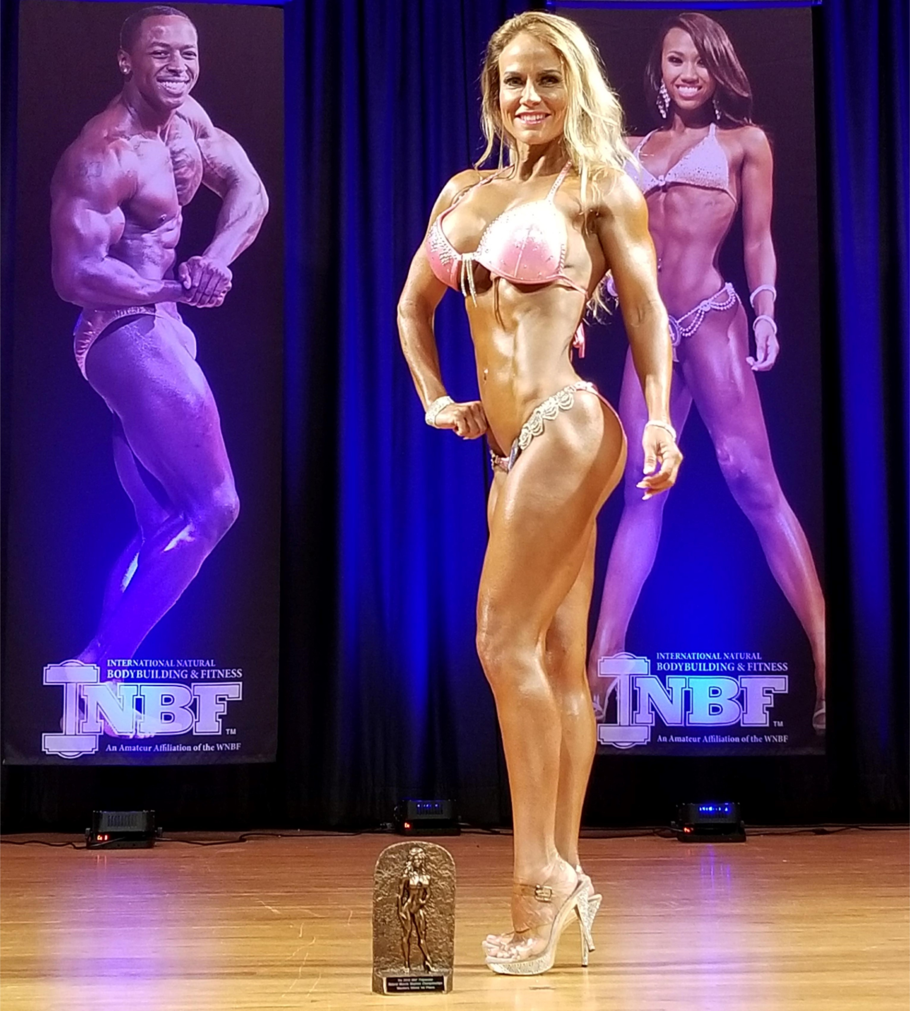 Heather Rosario Bikini Champion INBF Polynesian Natural Muscle Mayhem WNBF Pro Qualifier Hi Fit Expo Oahu Hawaii