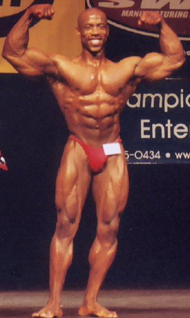 Rodney Helaire WNBF Pro and 2003 INBF Capital City Natural Overall Bodybuilding Champion Sacramento California #CNMM20