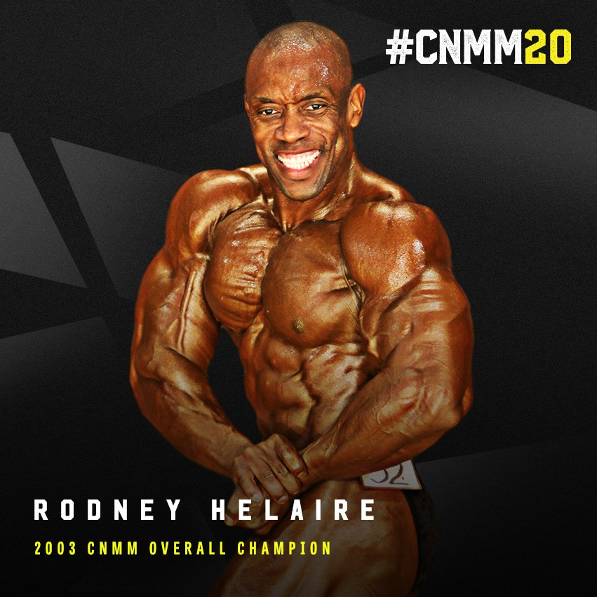 Rodney Helaire 2003 INBF Capital City Natural Overall Bodybuilding Champion WNBF Pro #CNMM20
