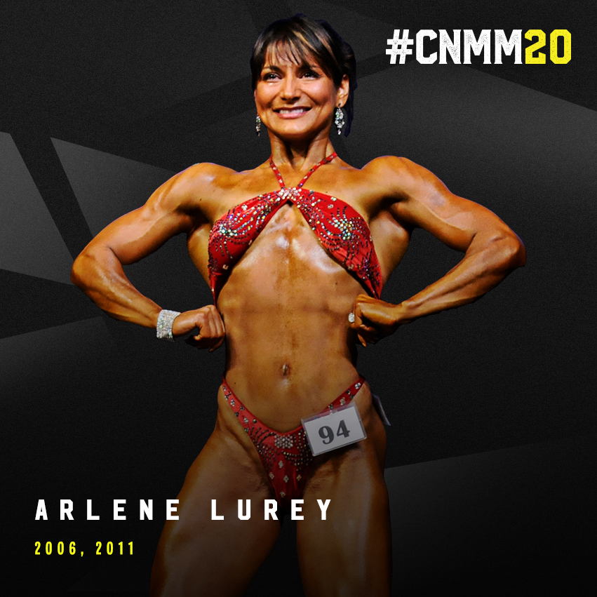 #CNMM20 blog post feature WNBF Pro Arlene Lurey 2018 WNBF Pro USA Womens Bodybuilding Participant