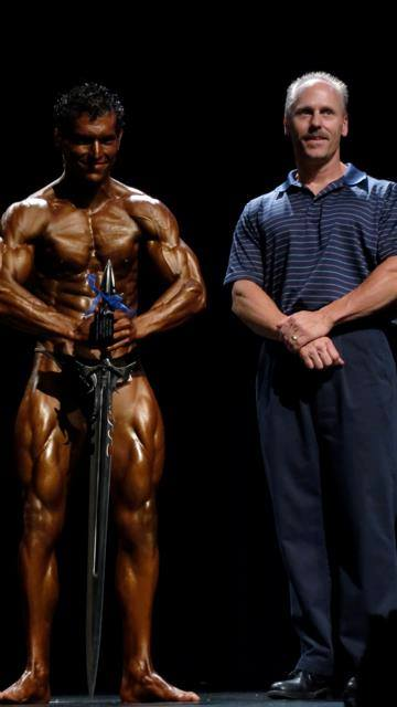 Brian Bousman INBF Capital City Natural Promoter WNBF Pro Masters Competitor