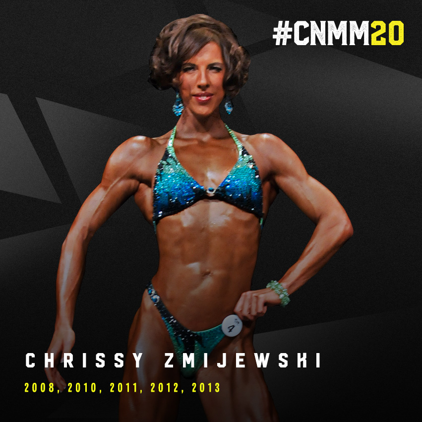 WNBF Pro Chrissy Zmijewski World figure Champion WNBF Pro USA California Natural Muscle Mayhem #cnmm20 blog