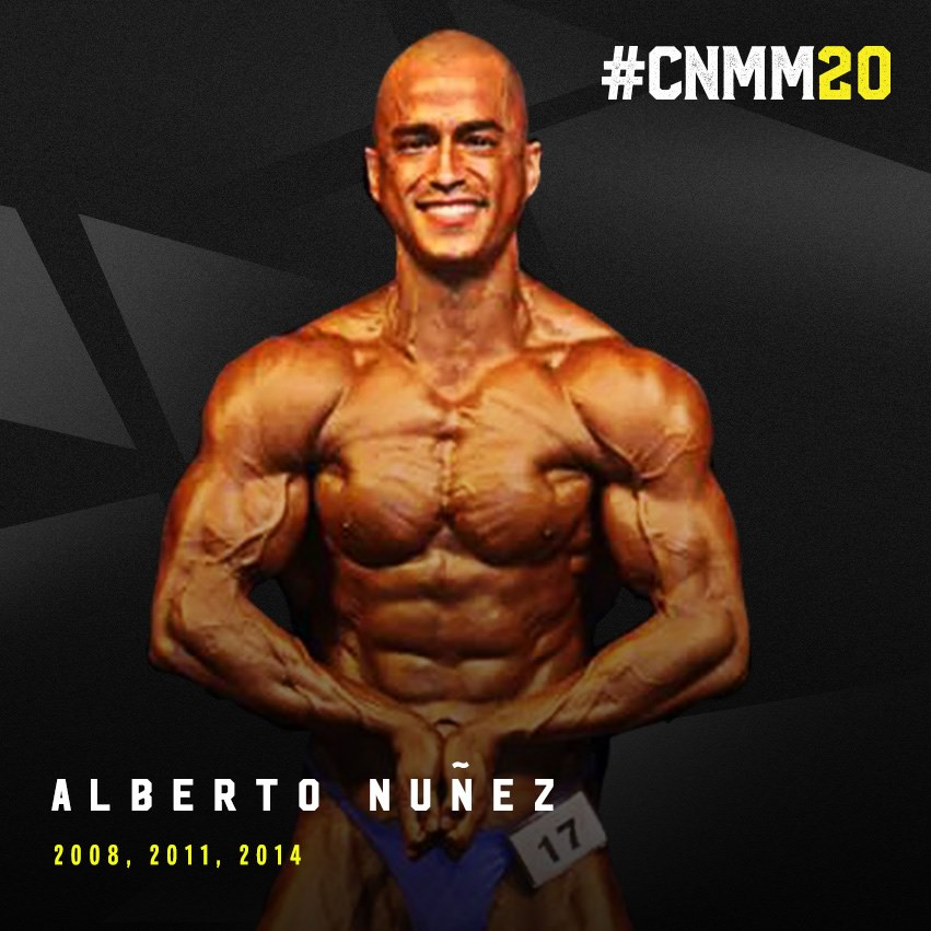WNBF Pro Alberto Nunez blog post #cnmm20