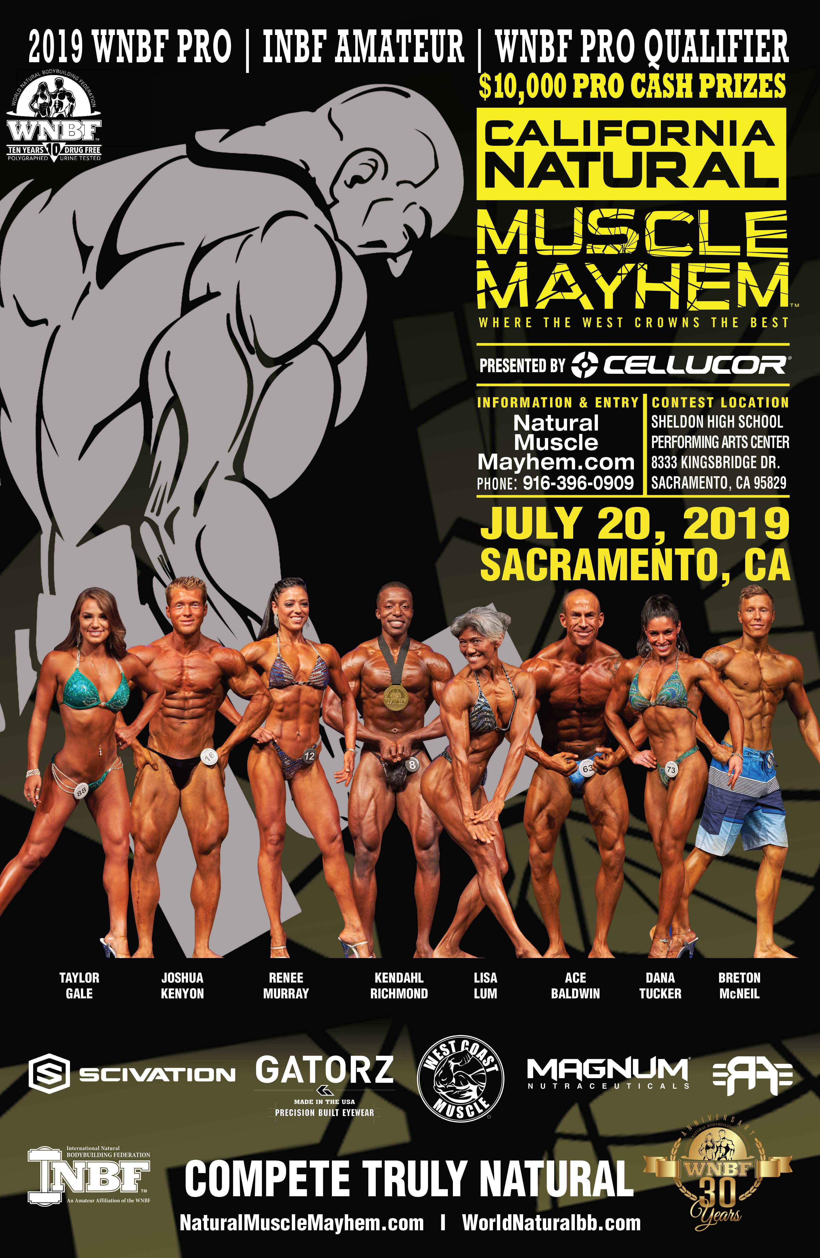 2019 Natural Muscle Mayhem – Natural Muscle Mayhem